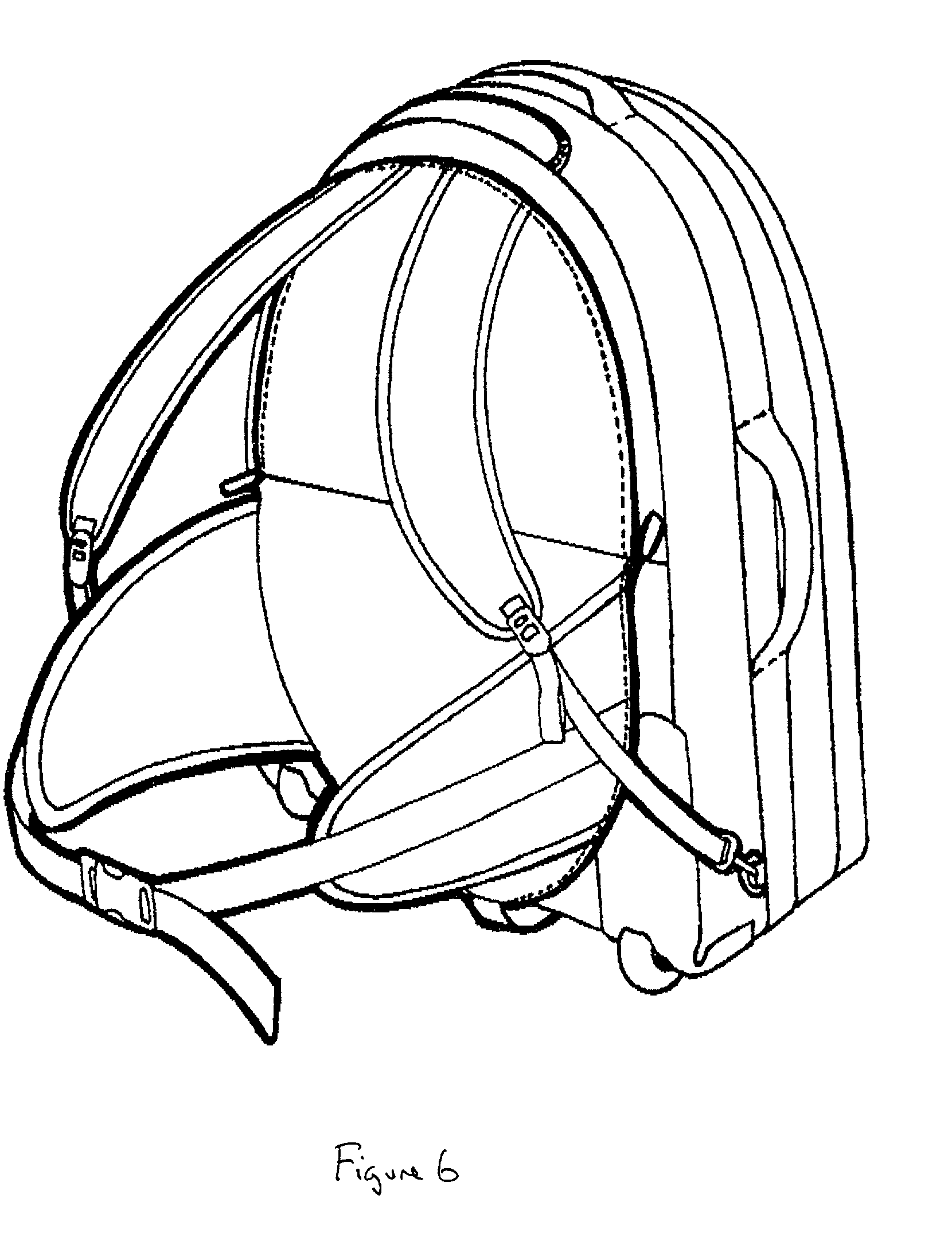 Open Backpack Drawing Clipart Panda