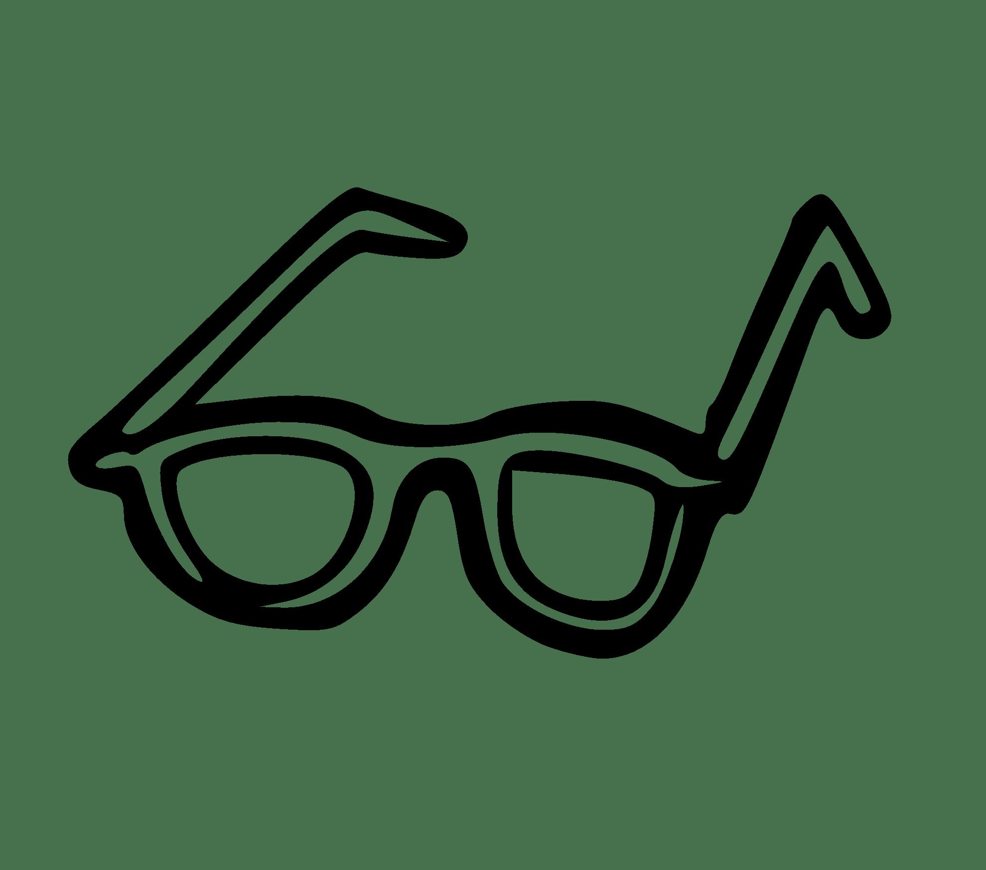 Sunglasses Clipart Black And White Clipart Panda