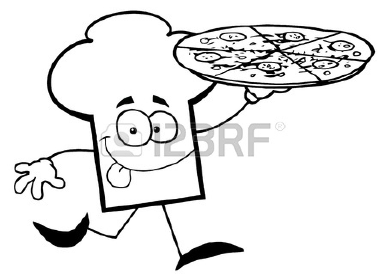 Pepperoni Pizza Clip Art Clipart Panda
