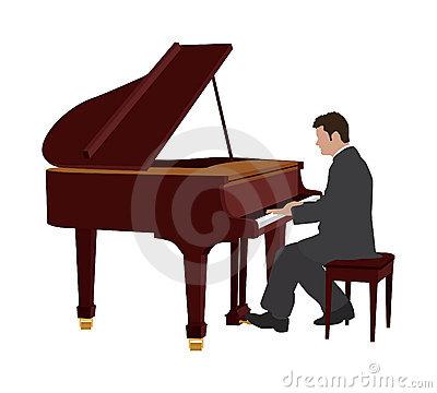 Piano Player Clipart