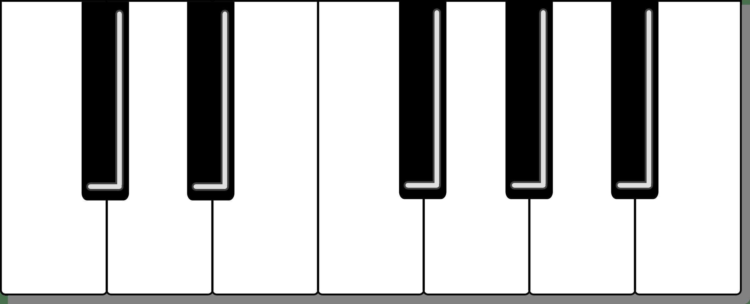 Piano Keyboard Clipart Clipart Panda