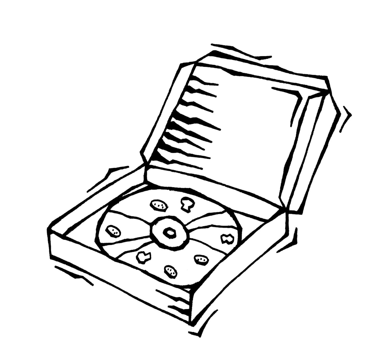 Pizza Box Clip Art Clipart Panda
