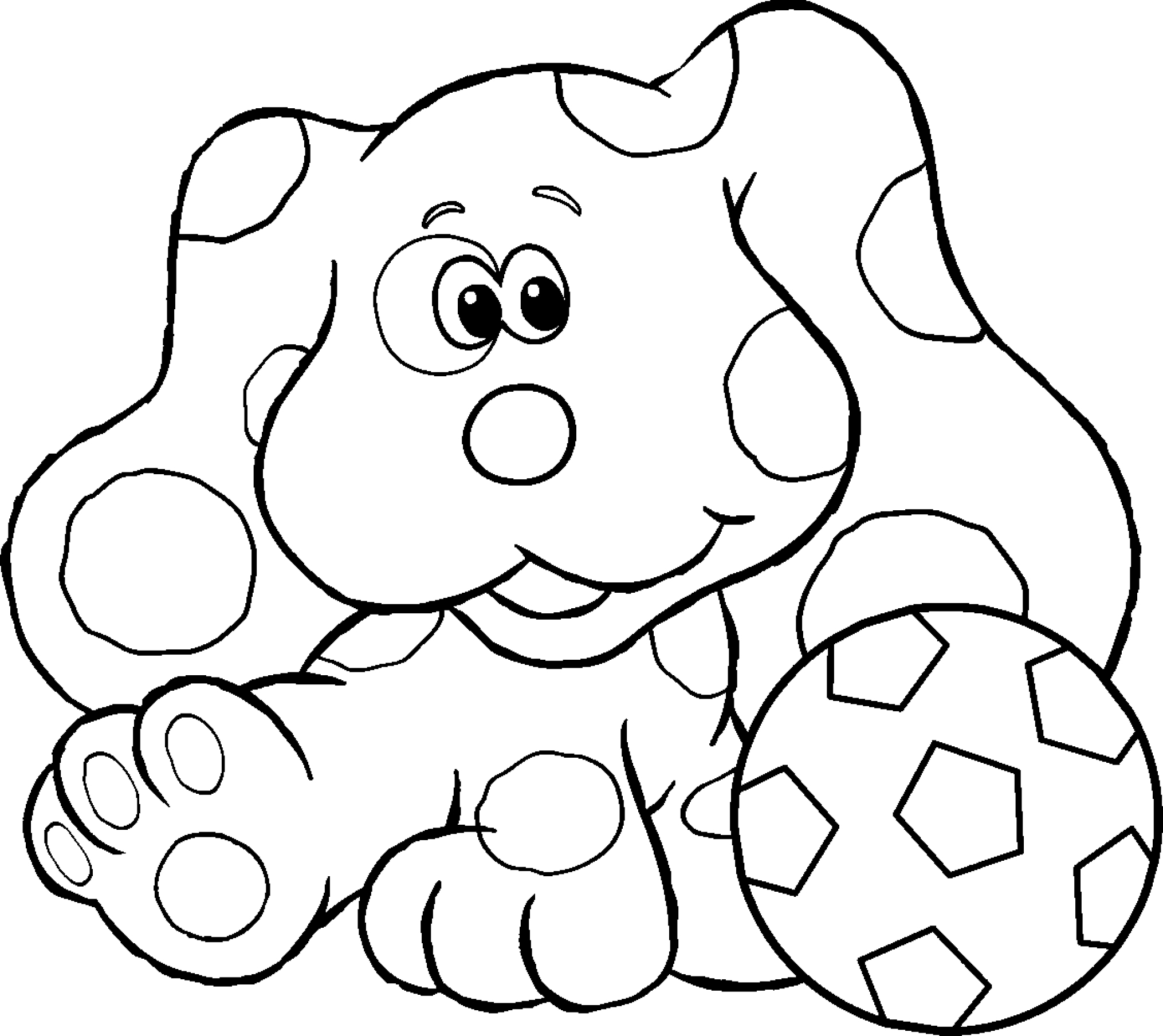 blues clues coloring book