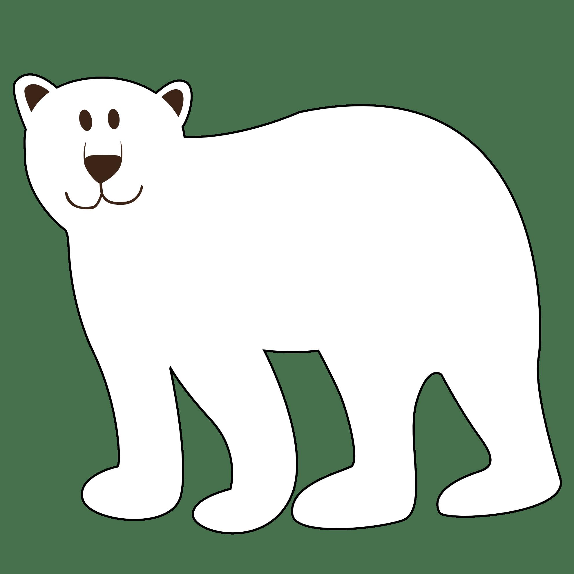 Polar Bear Clip Art Carson Dellosa Clipart Panda