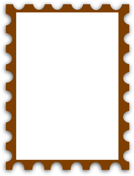 Blank Postage Stamp Clip Art Clipart Panda Free