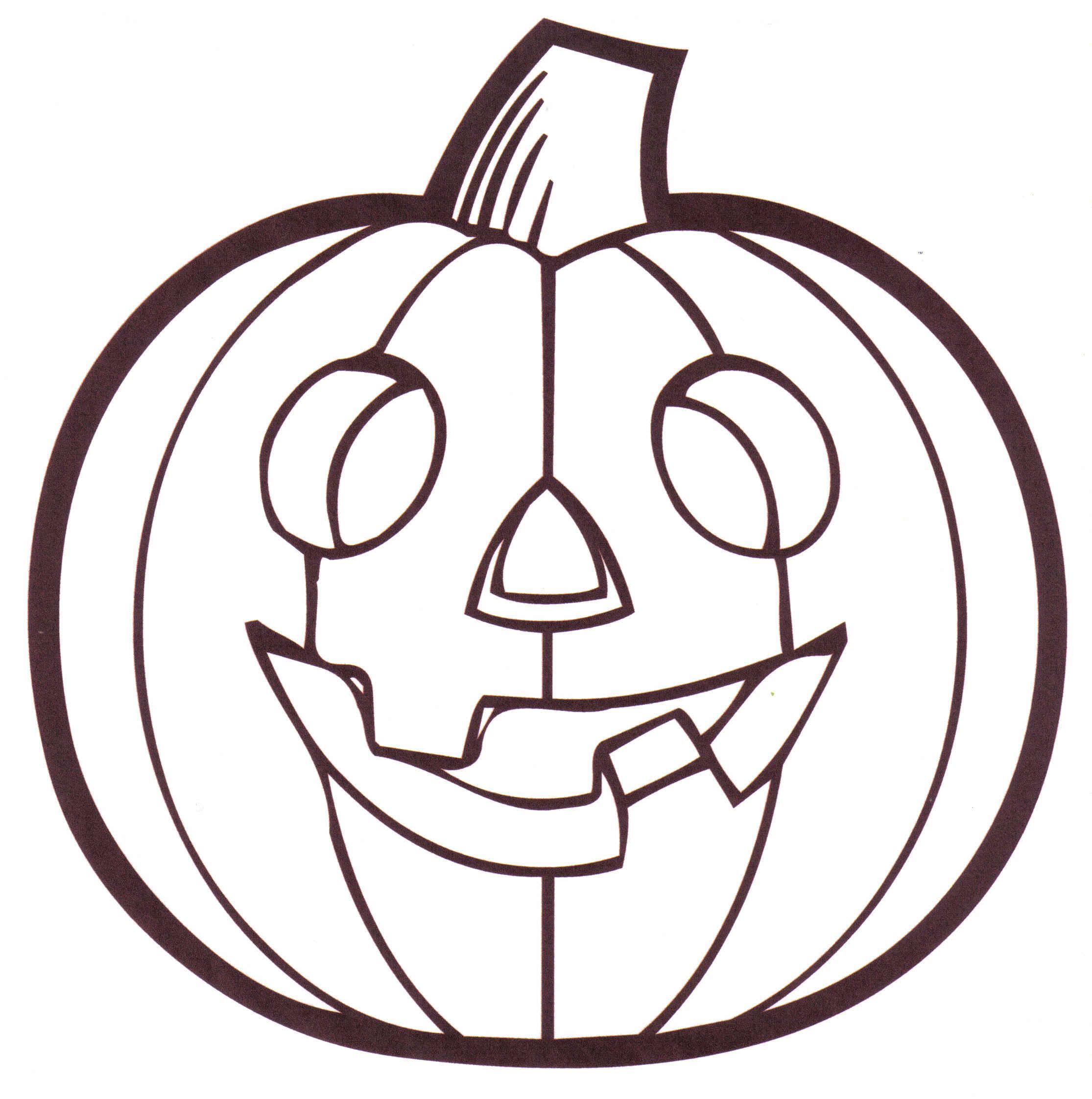 Pumpkin Outline Printable Clipart Panda