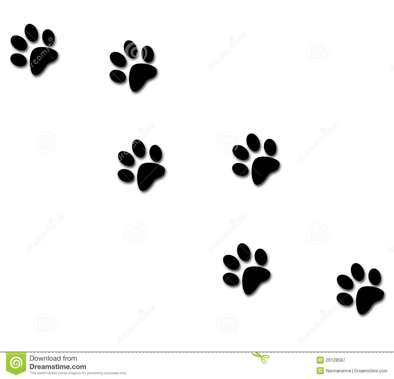 Free Dog Paw Clip Art Clipart Panda