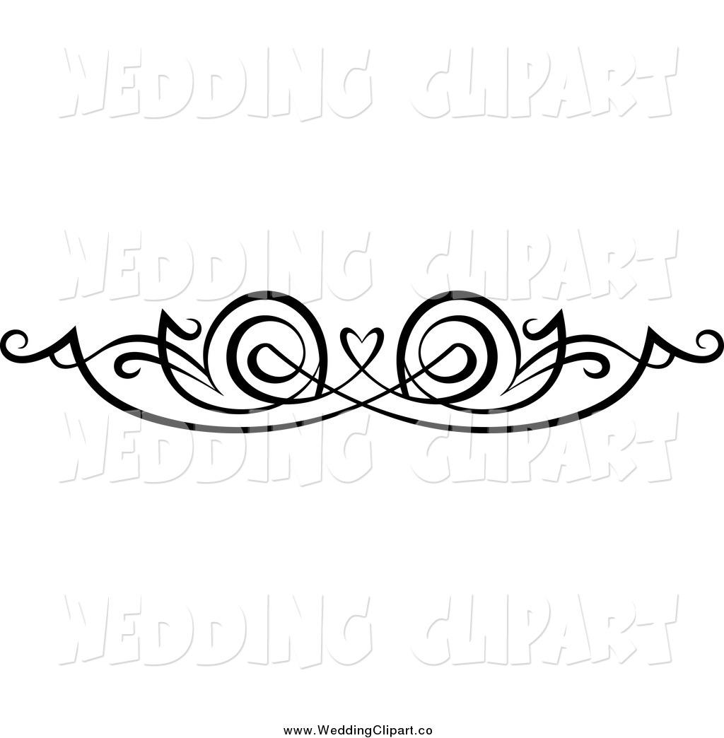 Purple Wedding Clip Art Borders Clipart Panda