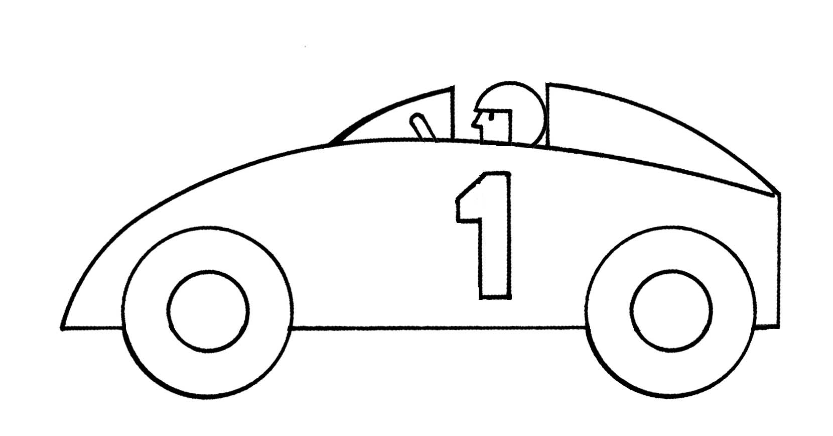 Race Car Clipart For Kids Clipart Panda