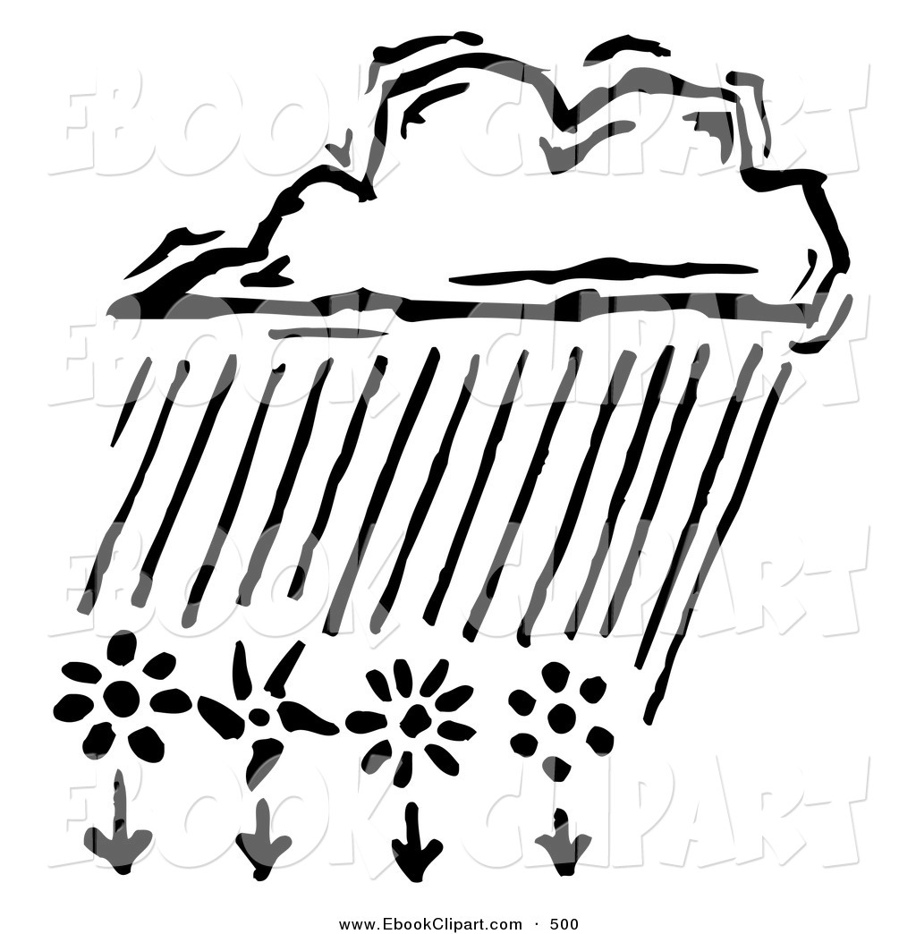 Clip Art Rain Flowers Cliparts