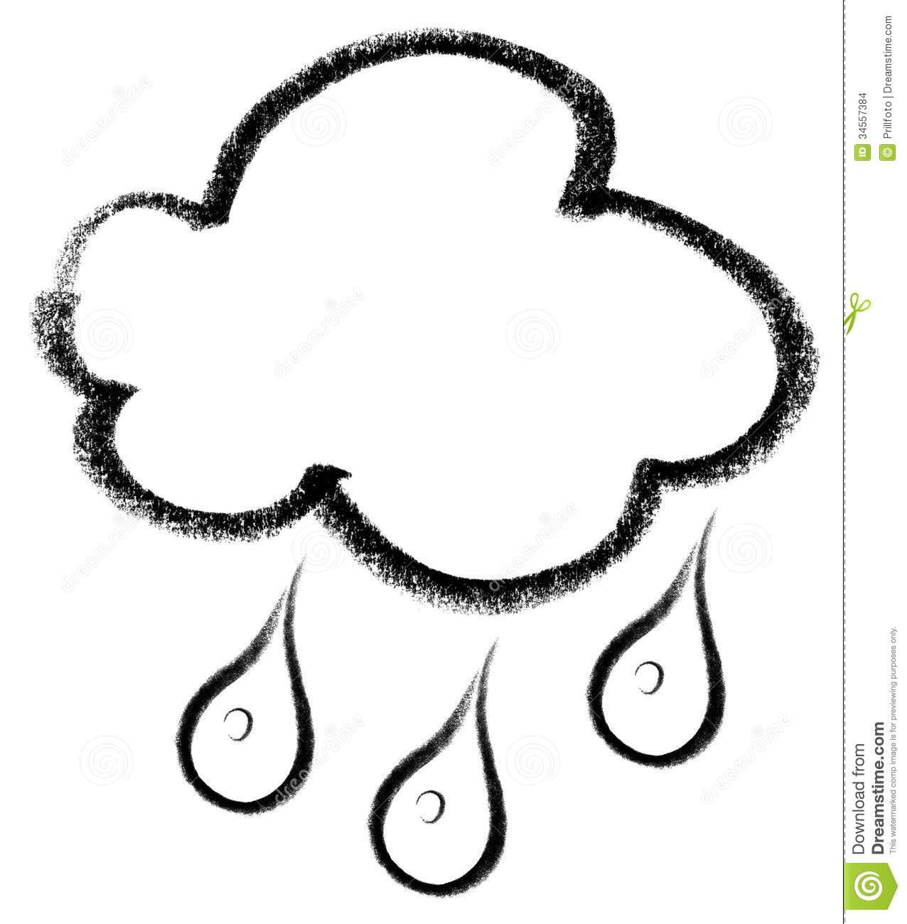 Rain Clouds Drawing Clipart Panda