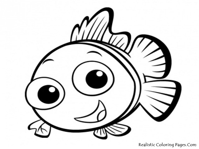 fish coloring pages nemo fish coloring pages realistic coloring pages