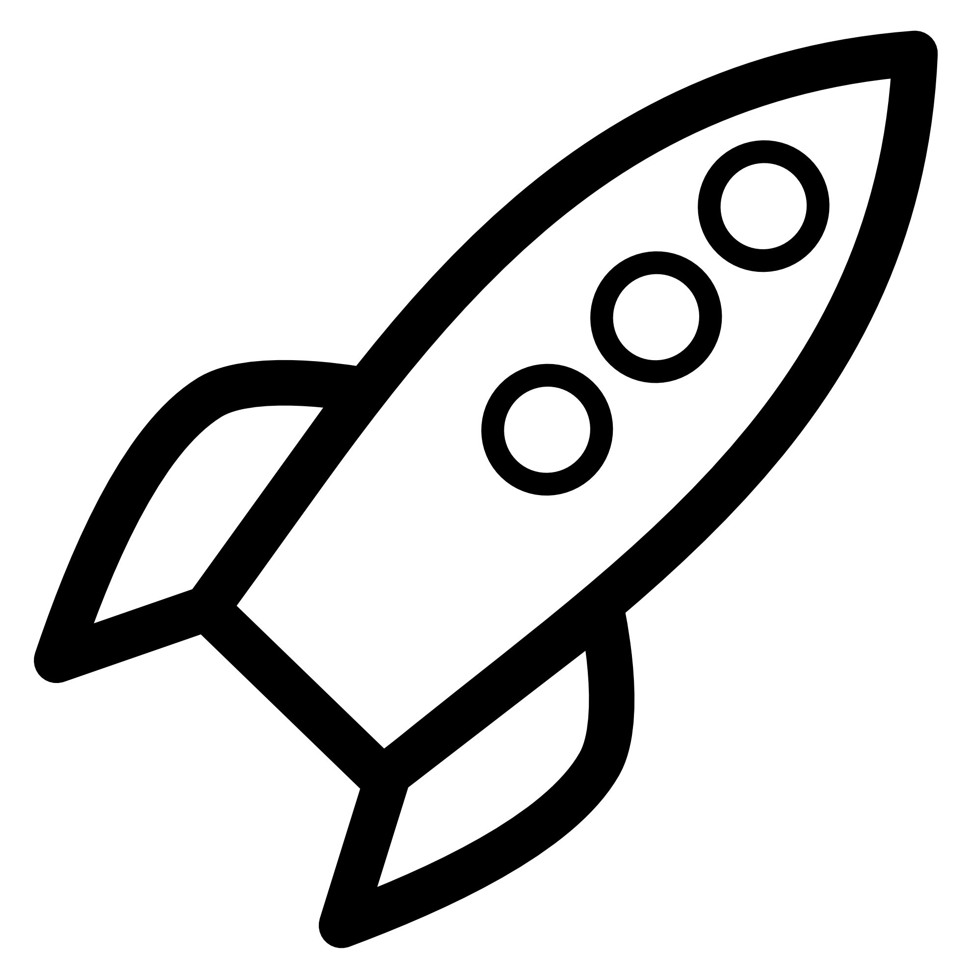 Rocket Clipart Black And White Clipart Panda