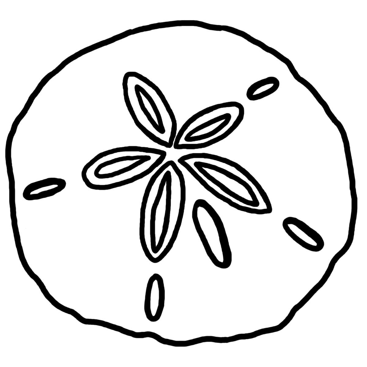 12 Sand Dollar Clip Art Clipart Panda
