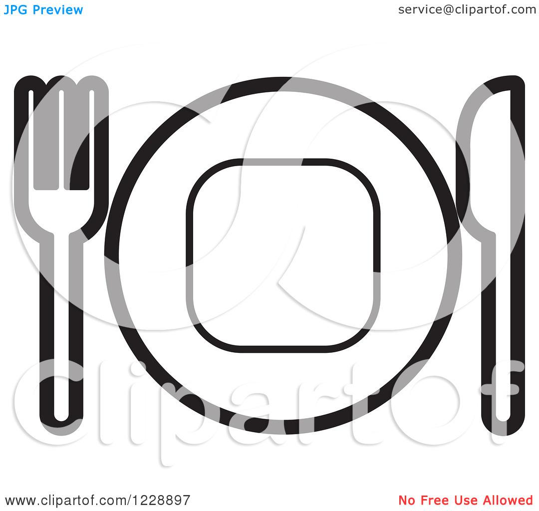 Silverware Clipart Clipart Panda