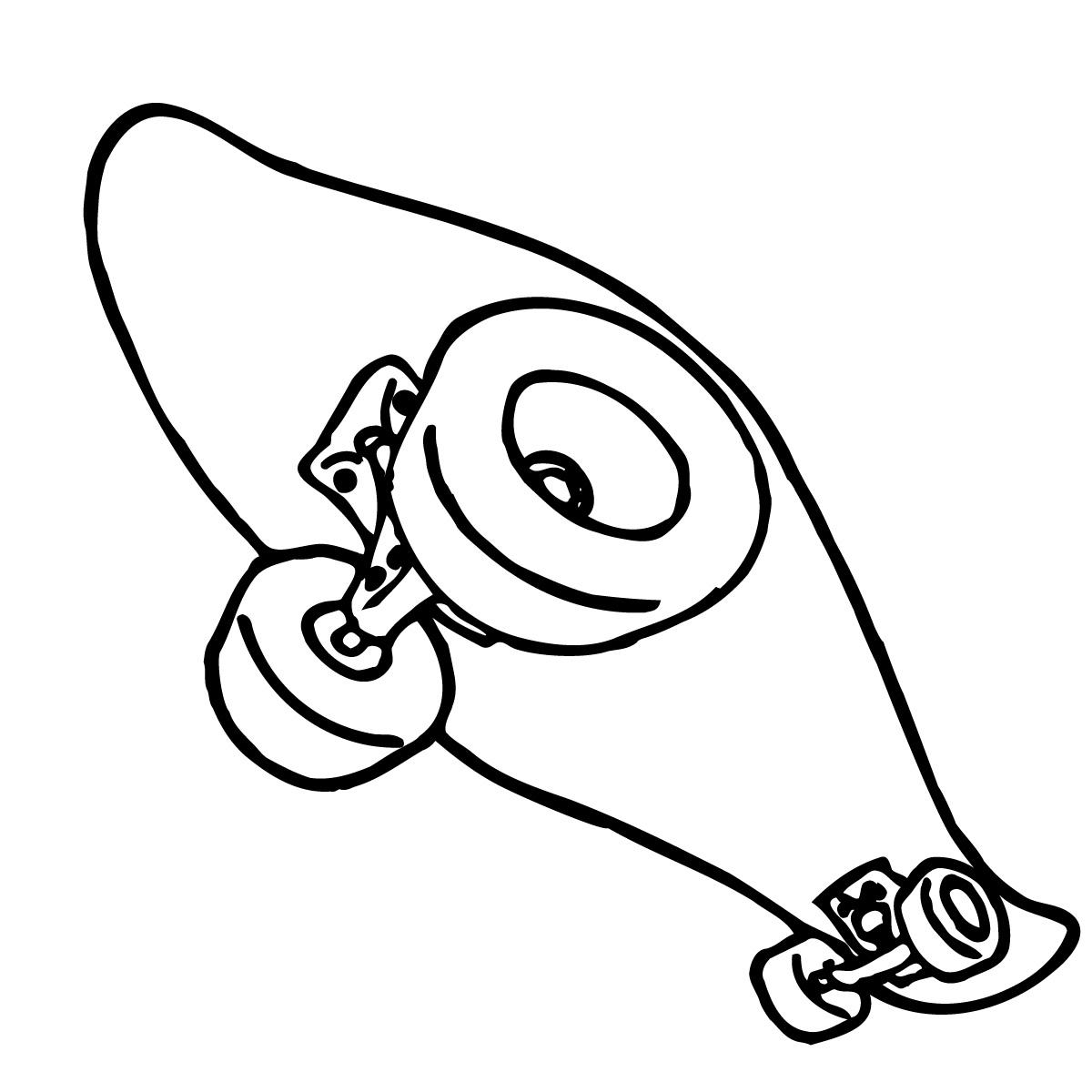 Skateboard Clipart Clipart Panda