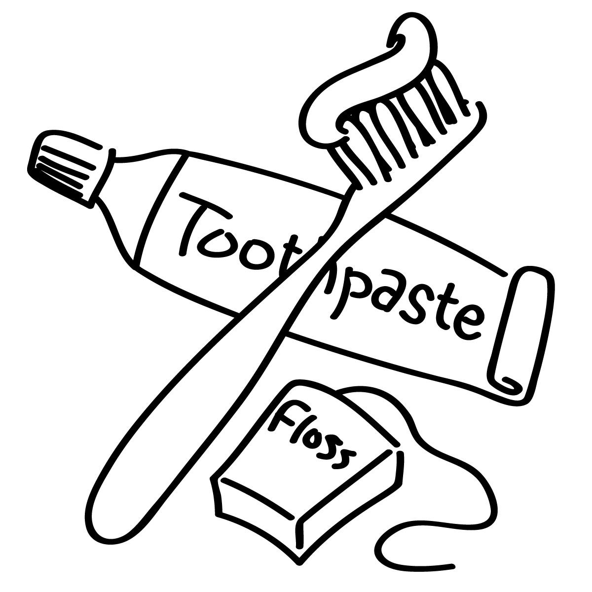 Boy Brushing Teeth Clipart Clipart Panda