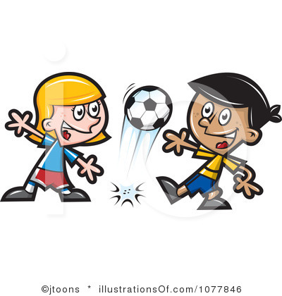 Image result for soccerclipart  girls and boys