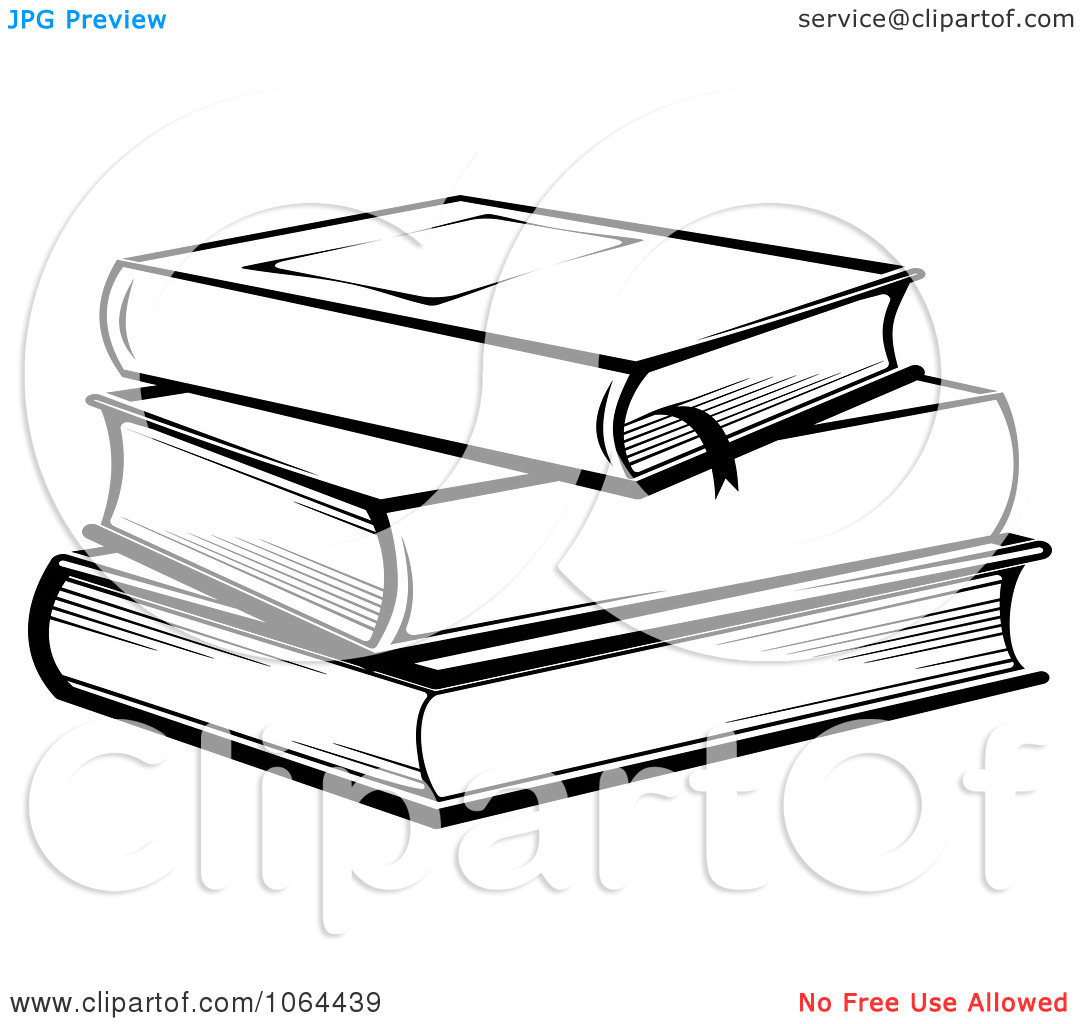 Stack Of 3 Books Clipart