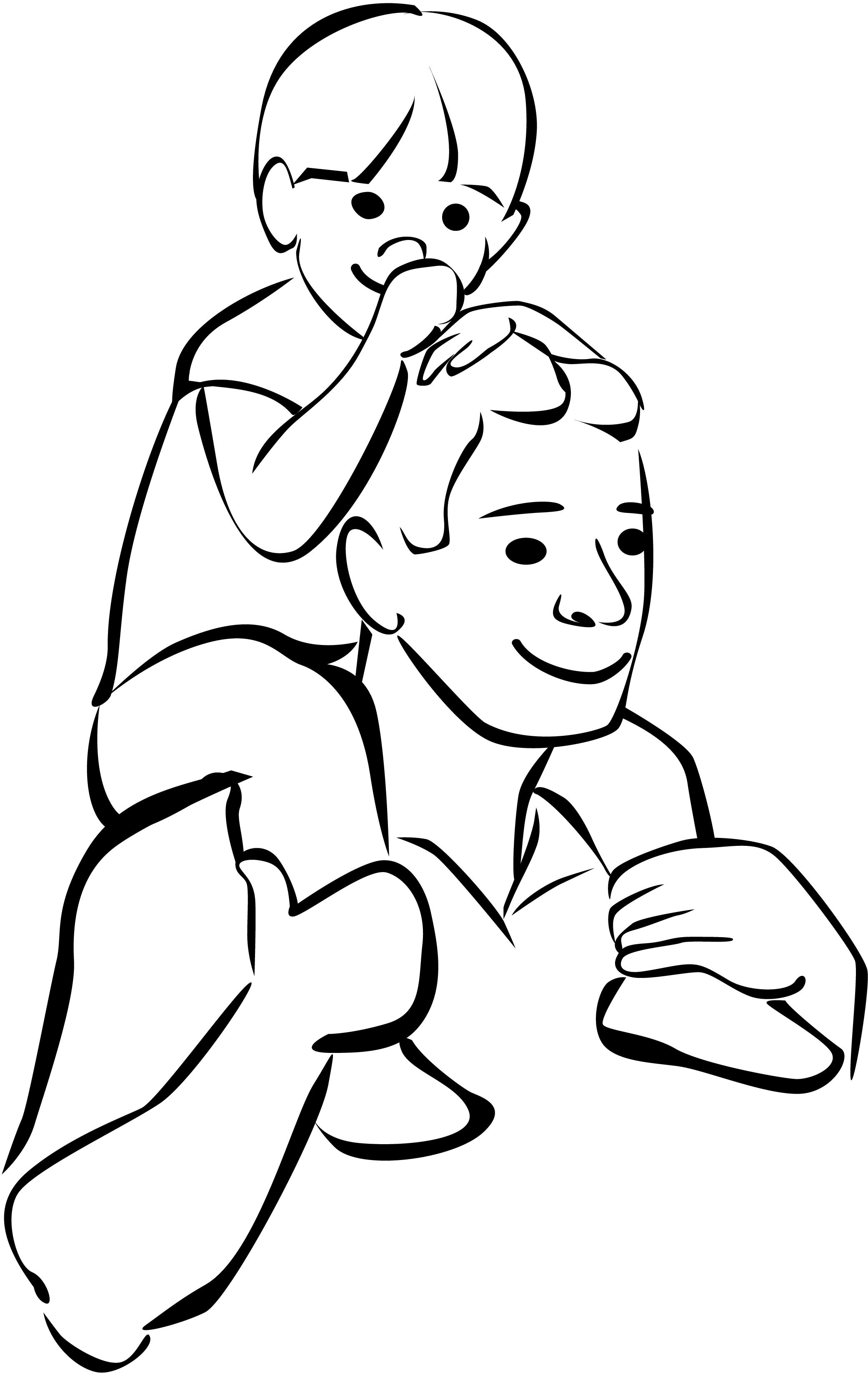 Student Raising Hand Clipart Black And White