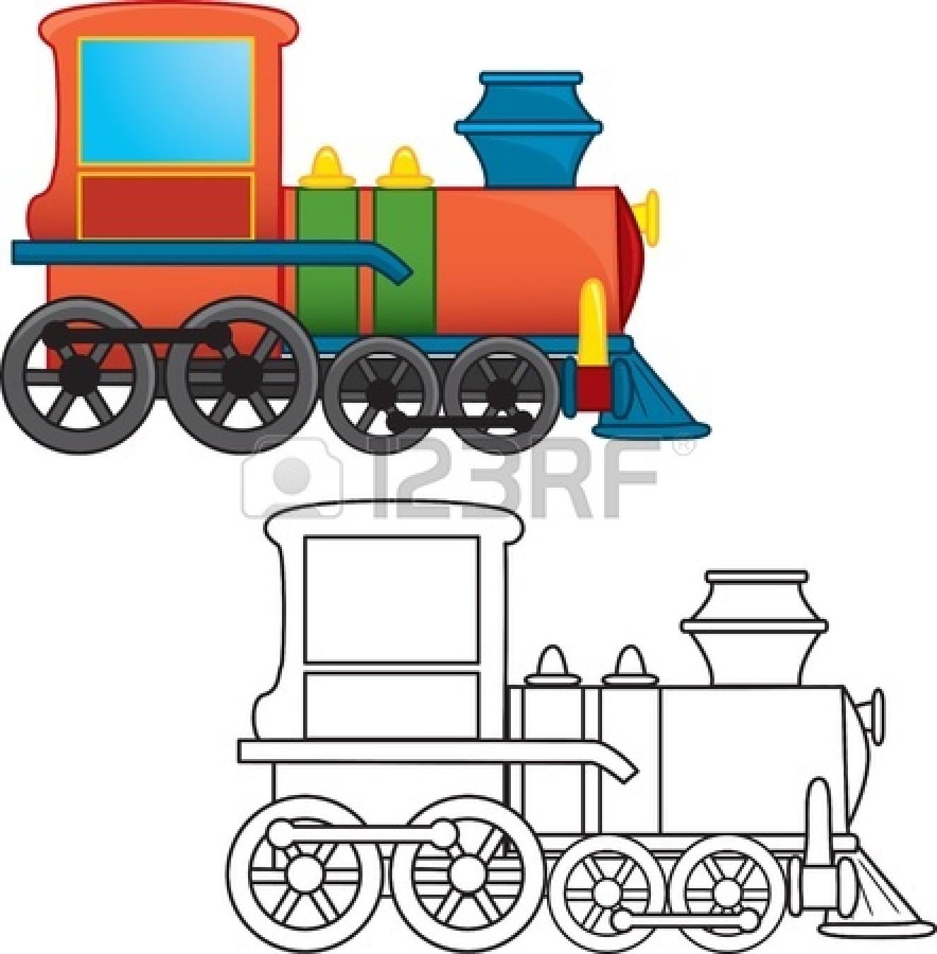 Train Engineer Cartoon Clipart Panda Free Clipart Images
