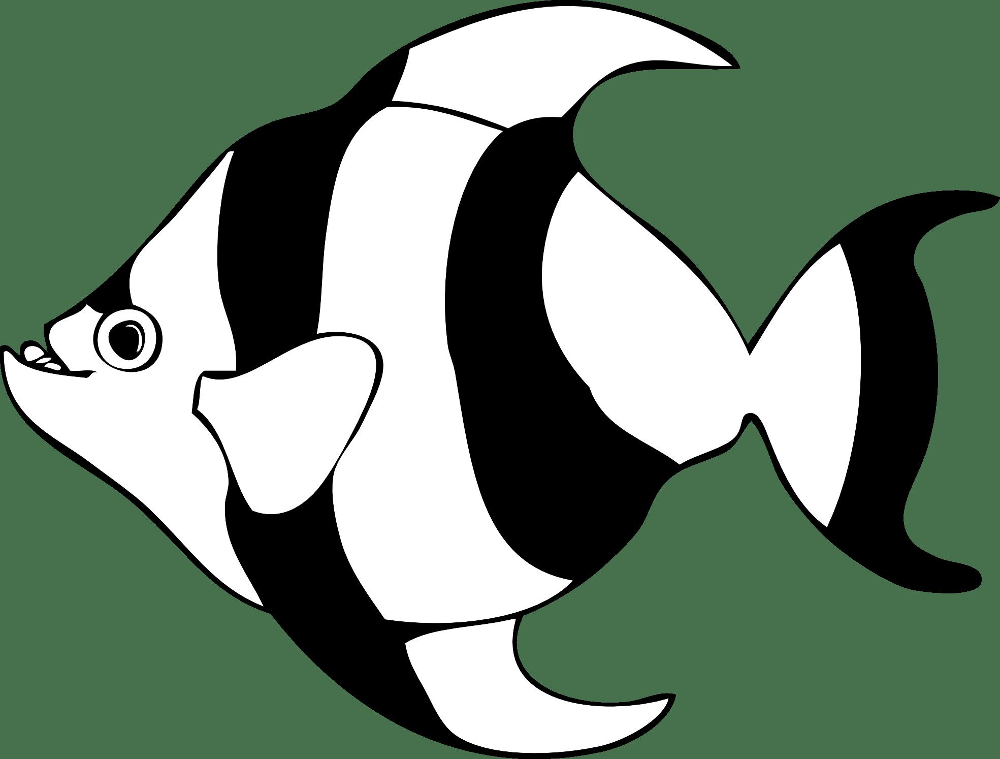 Fish Clip Art Black And White Clipart Panda
