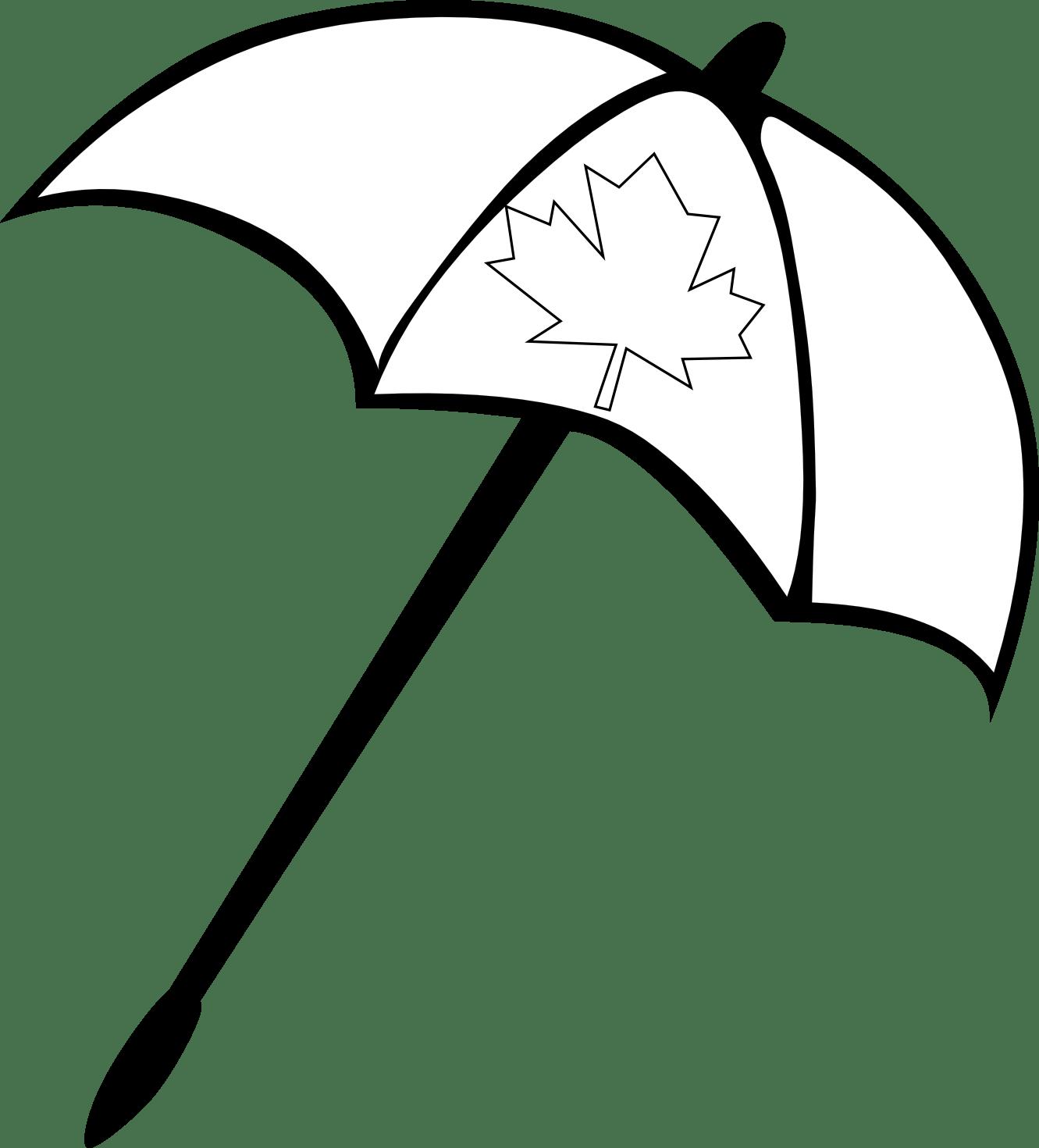 Umbrella Clipart Black And White Clipart Panda