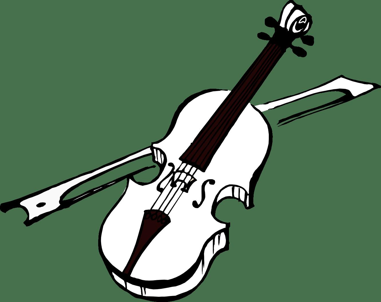 Violin Clipart Clipart Panda