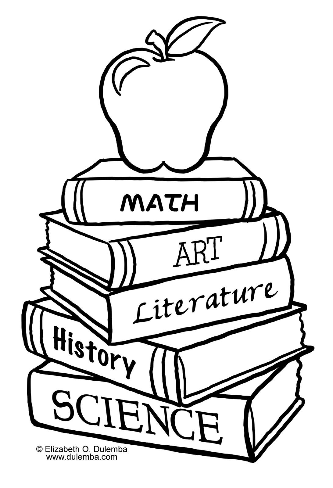 Welcome Back To School Clipart Black And White