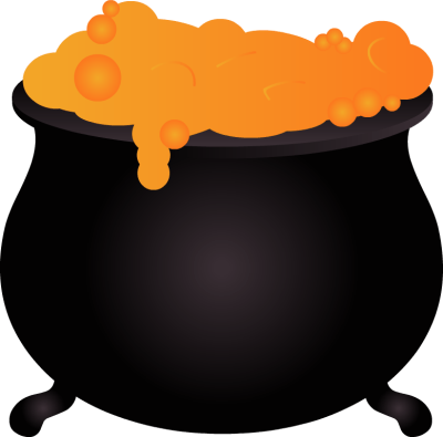 Image result for free clip art witch cat cauldron transparent