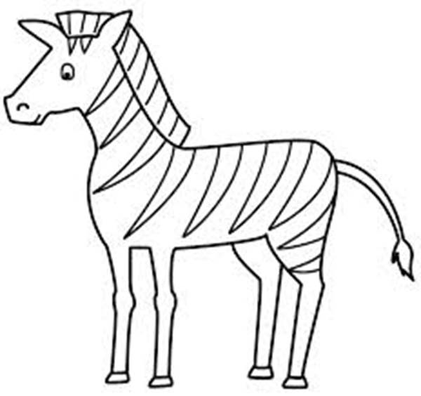 zebra coloring pages zebra horse coloring page jpg