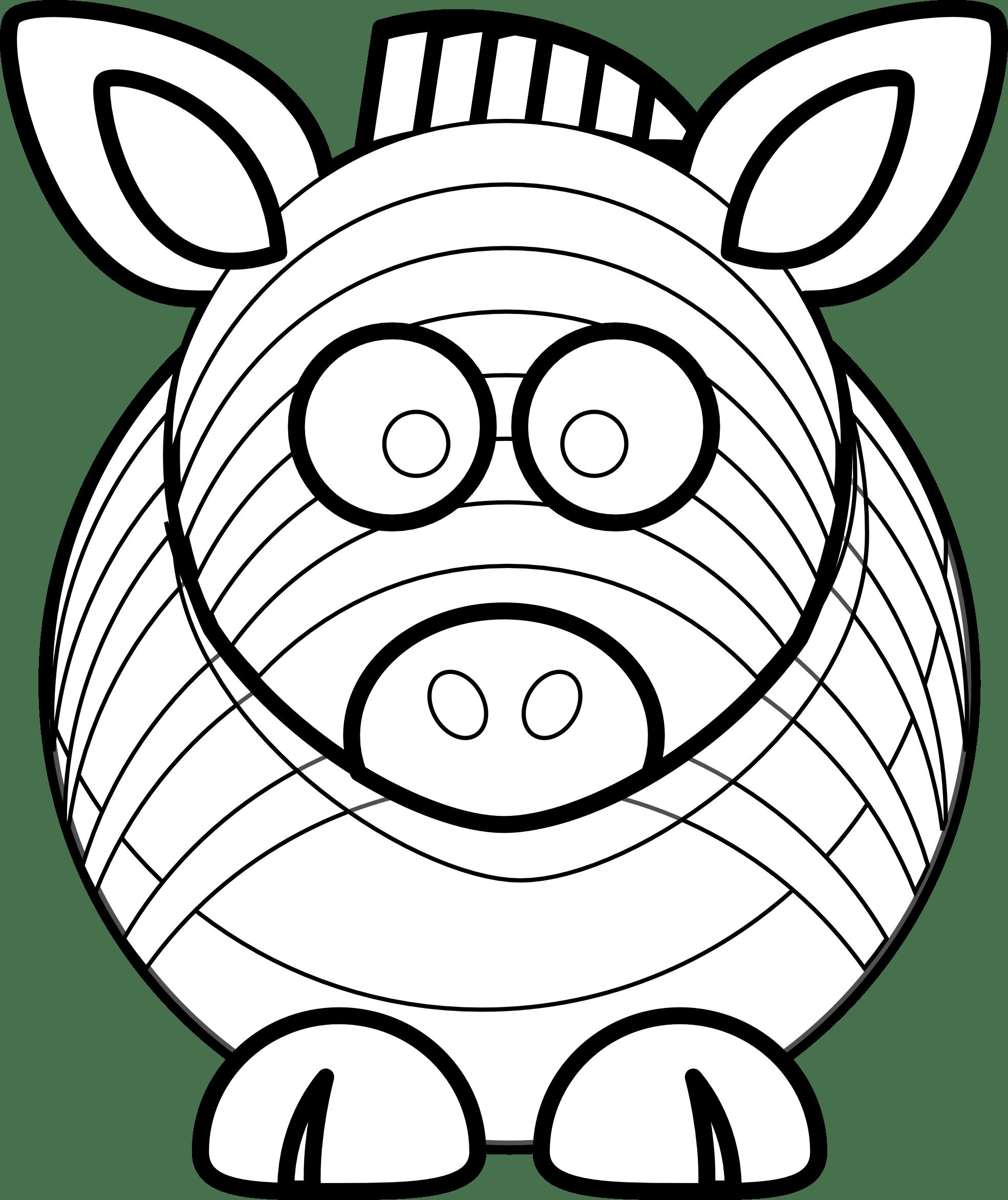 Zebra Head Clipart Clipart Panda