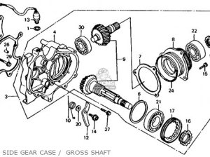 Honda Atc200es Big Red 1984 (e) Usa parts list partsmanual partsfiche