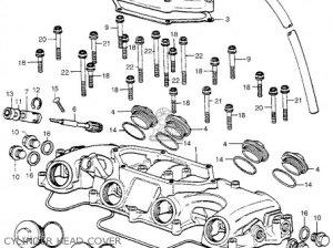 Honda CB400F SUPER SPORT 400 FOUR 1975 CB400FK0 USA parts lists and schematics