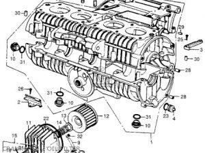 Honda Cb550 K1 Four 1975 Usa parts list partsmanual partsfiche
