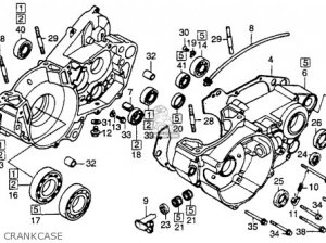 Honda Cr250r 1984 Usa parts list partsmanual partsfiche