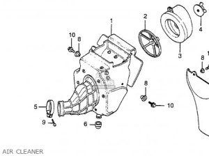 Honda cr80 engine diagram