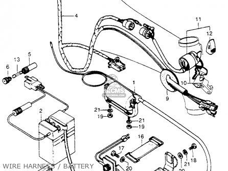 Honda S90 Wiring Schematic