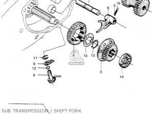 Honda CT90 TRAIL 1966 K0 USA parts lists and schematics
