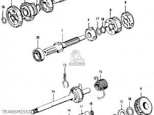 Honda Ct90 Trail 1969 K1 Usa parts list partsmanual partsfiche