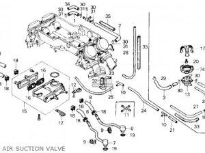 Honda Gl1200a Goldwing Aspencade 1986 (g) Usa California parts list partsmanual partsfiche