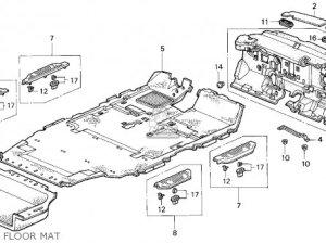 Honda Odyssey 1995 (s) 5dr Lx 7 Seats (ka) parts list partsmanual partsfiche
