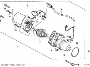 Honda Sh50 Scoopy 1995 England  Mkh parts list