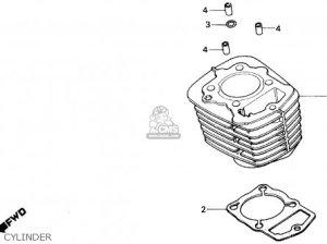 Honda Tlr200 Reflex 1986 Usa parts list partsmanual partsfiche