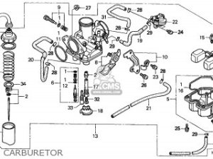 Honda Trx250 Recon 1999 (x) Canada Cmf parts list partsmanual partsfiche