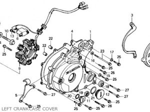 Honda Trx250x Fourtrax 250x 1987 (h) Usa parts list
