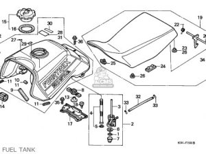 Honda Trx300 Fourtrax 1990 (l) Usa parts list partsmanual partsfiche