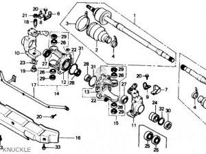 Honda Trx350d 1988 Fourtrax Foreman 4 X 4 1988 (j) Usa parts list partsmanual partsfiche