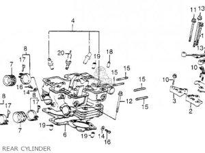 Honda VF1100C MAGNA 1983 (D) USA parts lists and schematics