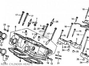 Honda Vf500f 500 Interceptor 1985 Usa parts list partsmanual partsfiche